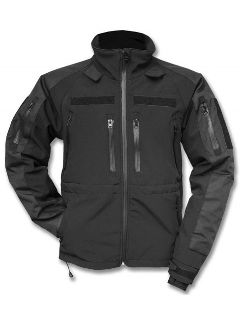 Mil-Tec Profesional Tactical Softshell Jacket Sturm Black 10859002
