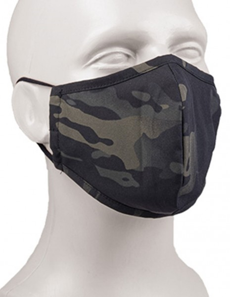Miltec 12670169 Sturm Protective Mask PesEl Wide Multicam Black