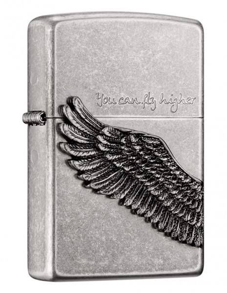 Zippo ZA-1-2B  Zippo Lighter  You Can Fly Higher  Asian Collection