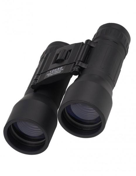 Miltec 15703002 Generation 2.0 Collapsible Binocular 10x42 Black