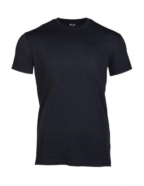 T-Shirt Big Size US Style Black Cotton  11011002
