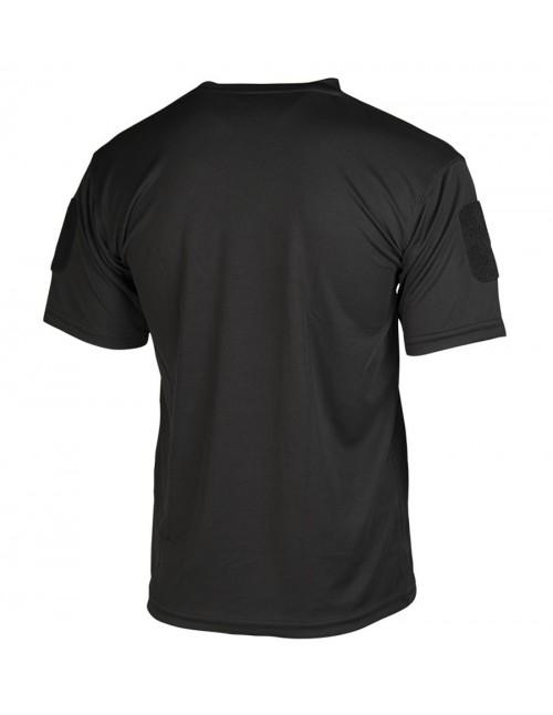 Tactical Sport Gym Hiking Quick Dry T-Shirt Black 11081002