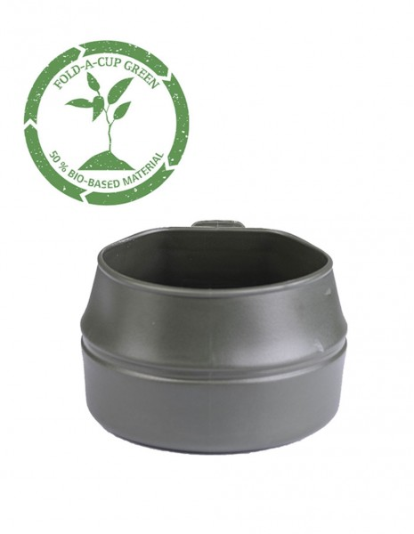 Wildo Fold-A-Cup® Folding Camping Hiking Mug Olive 14605000