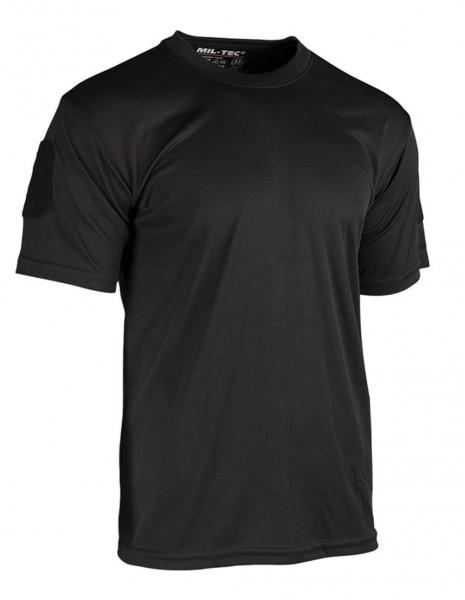 Miltec 11081002  Gym Hiking Quick Dry T-Shirt Black