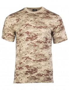 Camouflage T-Shirt Cotton Digital Desert 11012073