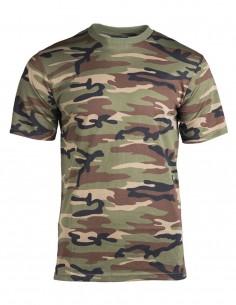 Maskirna Majica Pamuk Woodland 11012020