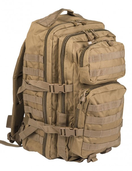 Miltec 14002205 Outdoor Camping Hiking Backpack Assault 36l Coyote
