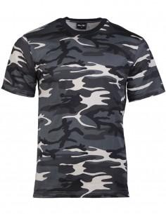 Camouflage T-Shirt Cotton Dark Camo 11012080
