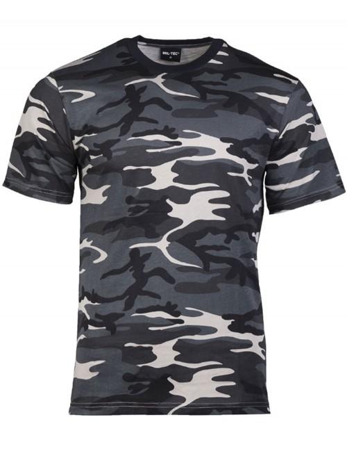 Maskirna Majica Pamuk Dark Camo 11012080