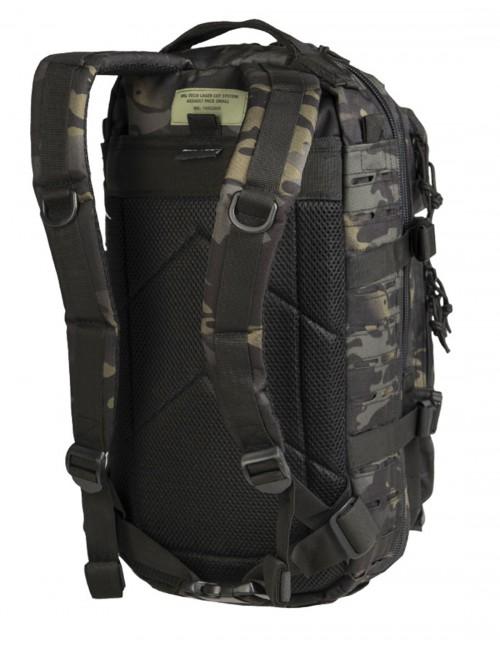 Outdoor Planinarski Vojni Ruksak Laser-Cut Assault 25L Multicam Black