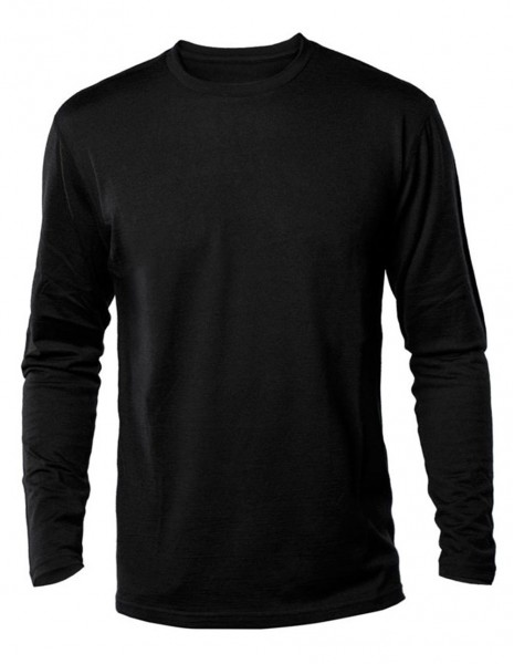 Miltec 11065002 Majica Dugi Rukav Pamuk US Style Black