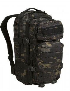 Outdoor Planinarski Vojni Ruksak Laser-Cut Assault 25L Multicam Black