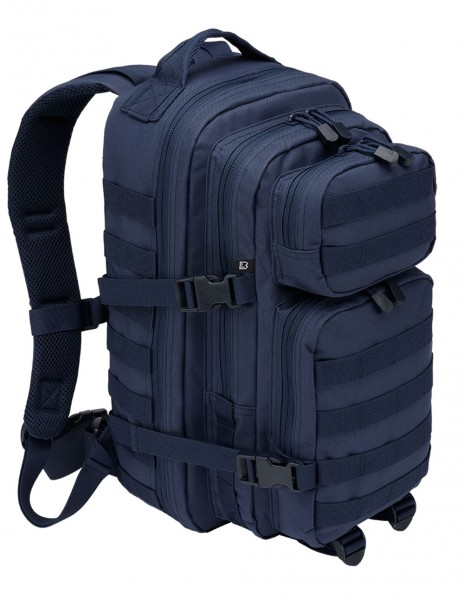 Brandit 8008-8 Camping Hiking Army Molle Backpack US Cooper Large 40 Liter Navy