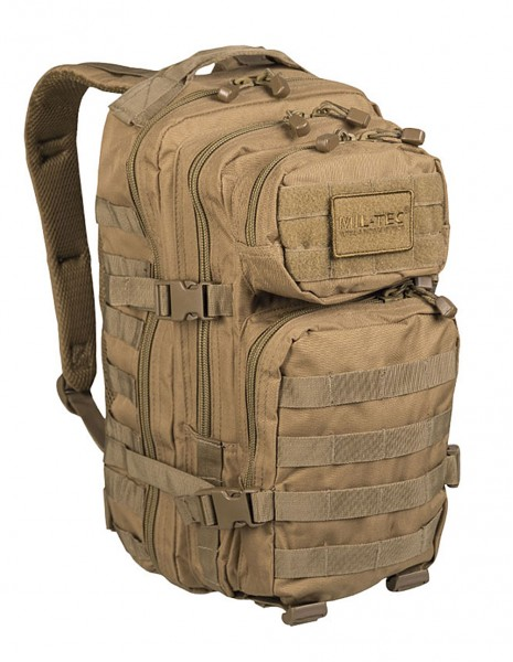 Miltec 14002005 Outdoor Camping Hiking Army Backpack 25L Coyote