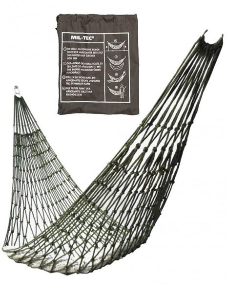 Miltec 14443000 Mini Rope Hammock Viseća Mreža Olive
