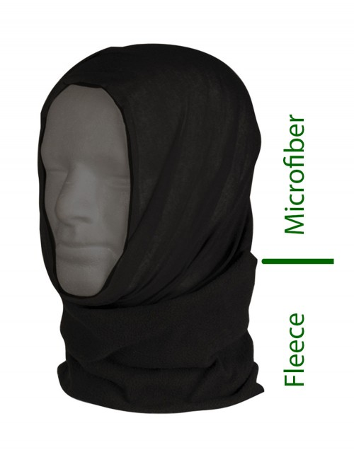 Dual Fleece Buff Zimski Ovratnik Podkapa Balaclava Black 12217002