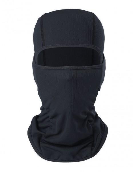 Profesional Bionic Tactical Face Mask Balaclava Quick Dry Black