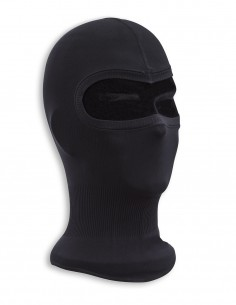 Lagana Podkapa Balaclava Fine-Ribbed Cotton Black 12114202