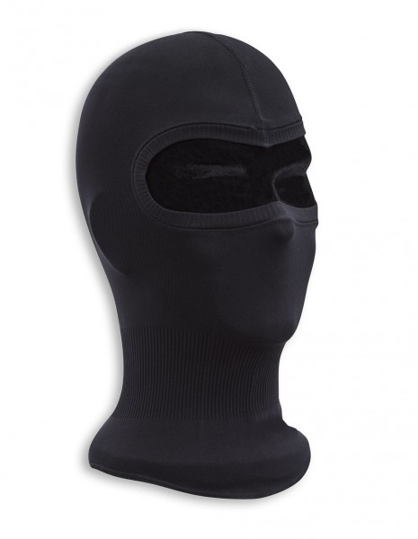 Balaclava Lightweight Fine Ribbed Cotton Black 12114202