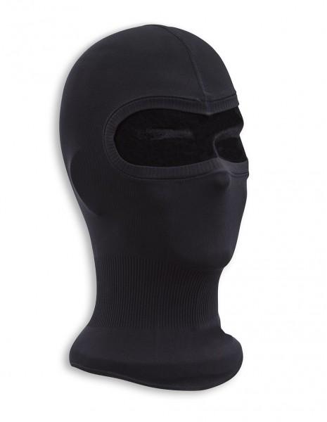 Miltec 12114202 Lagana Podkapa Balaclava Fine-Ribbed Cotton Black