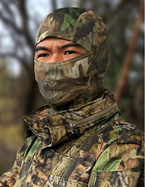 Bionic Balaclava Quick Dry Camouflage Real Tree Forest