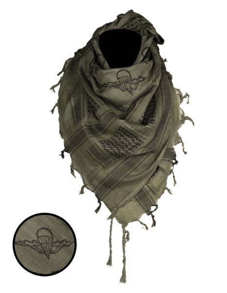 Original Shemagh Army Military Desert Scarf Paratrooper Olive Sale 12609301