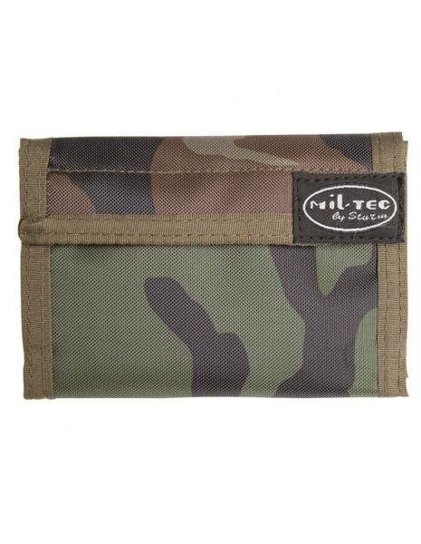 Military Wallet Woodland M2