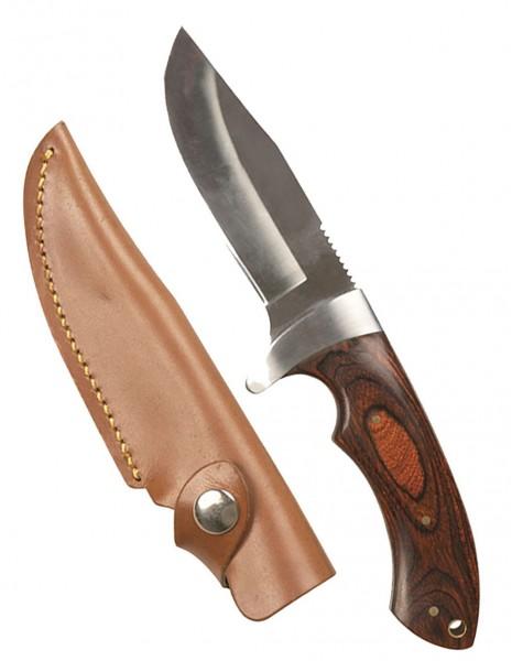 Miltec 15385000 Classic Hunting Knife Pakka Wood 23cm