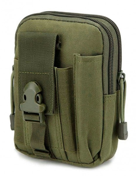 Phone Molle Belt Pouch Olive