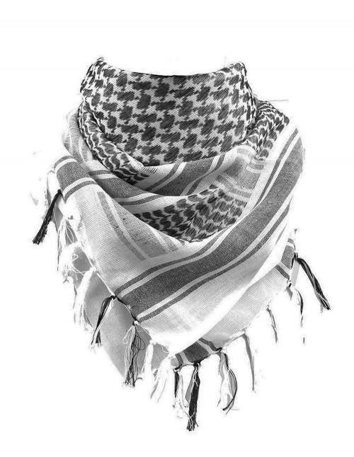 Original Shemagh Pustinjska Marama Palestinka White Black Popust 12613000