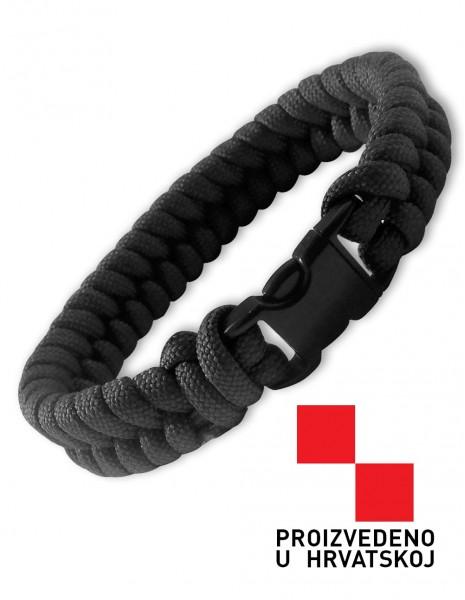 Urban Survival Paracord Bracelet Black