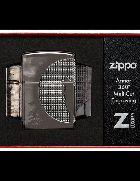 Zippo 49353 Luxury Series Zippo Upaljač Armor Wolf Design