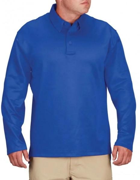 Propper IWA I.C.E. Performance Polo Long Sleeve Blue