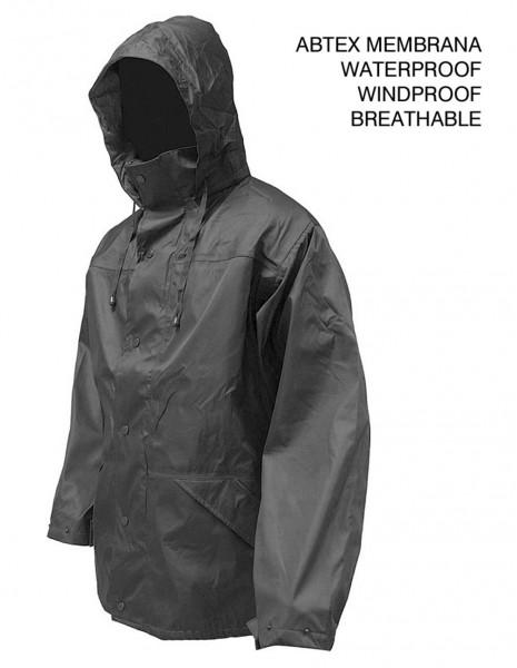 Highlander Tempest Waterproof Jacket Black