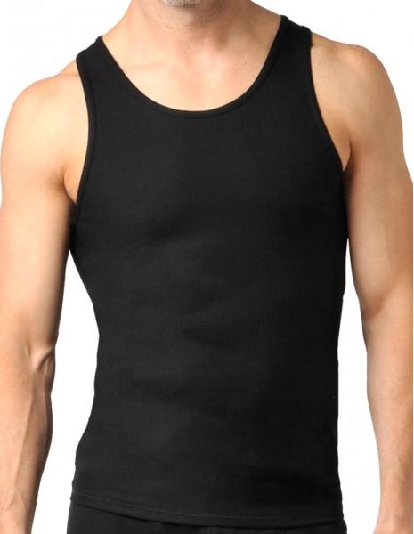 Miltec 11002002 Premium Ribbed Tank-Top Majica Bez Rukava Black