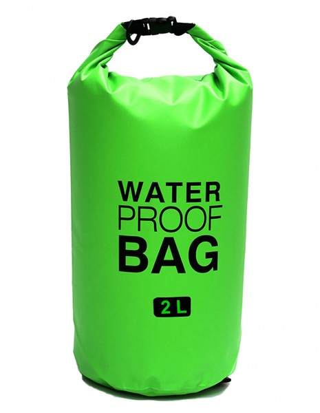 Waterproof Dry Bag 2L Safety Green WP06