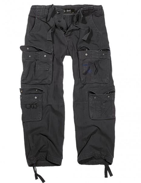 Brandit 1003 Pure Vintage Cargo Pants Black