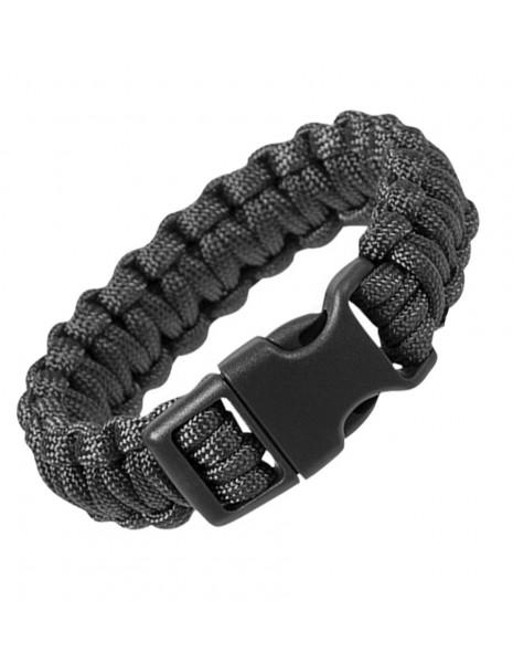 Paracord Survival Bracelet Cobra Black Sale 16370202