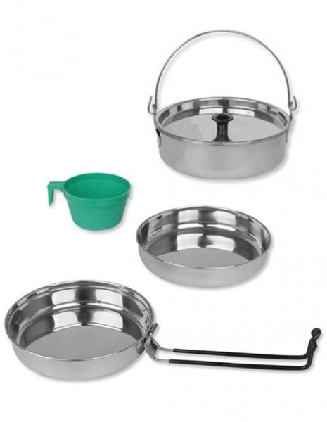 Miltec 14646000 Outdoor Cooking Set INOX SS-1