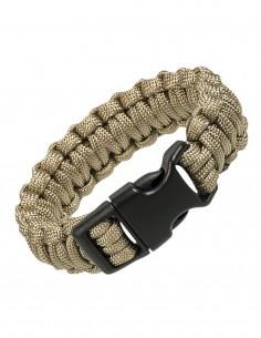 Paracord Survival Bracelet Cobra Coyote Sale 16370205