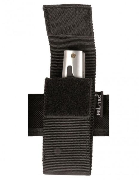 Miltec 16262002  Police Security Battery / Knife Case 13cm Black