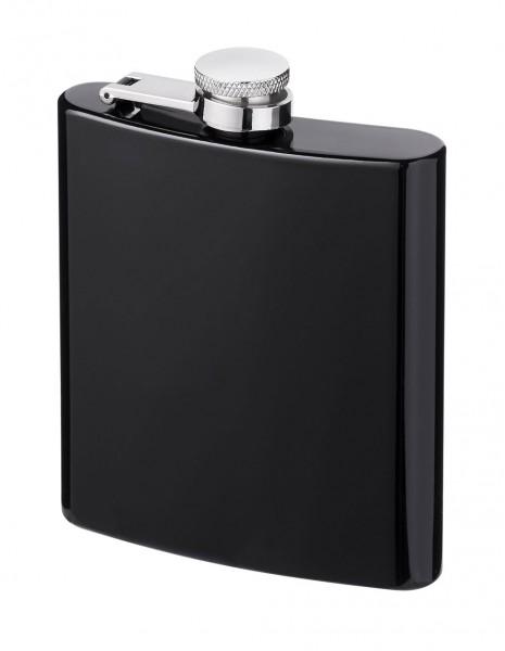 Hip Flask Stainless Steel Black Matte 177ml / 6oz