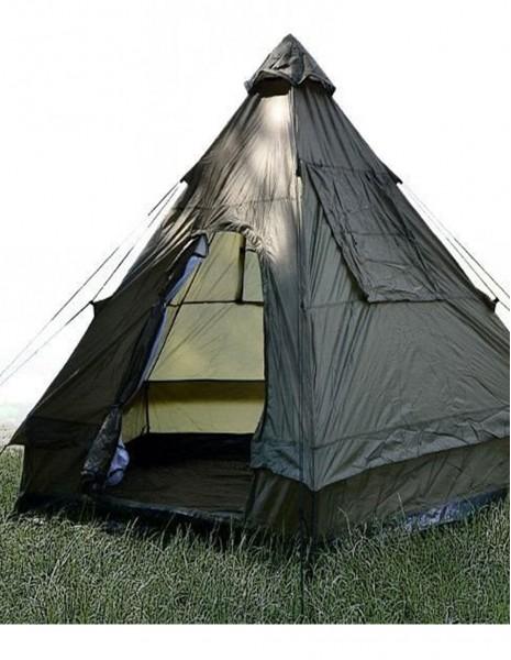 "Miltec 14227000 Tent Pyramid ""Wigwam Tipi"" 4-person Olive"