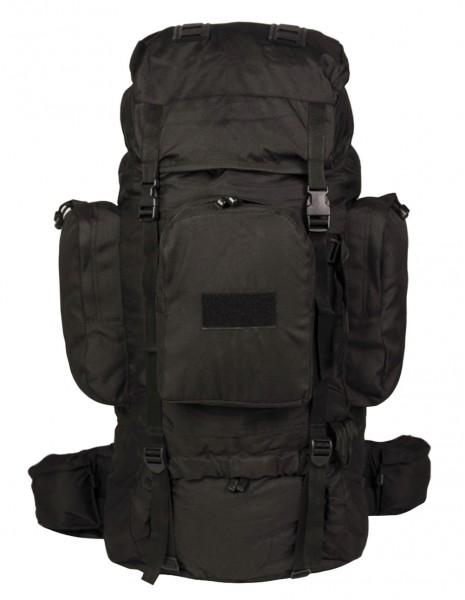 Recom Waterproof Hiking Hunting Military Backpack 88L Black 14033002