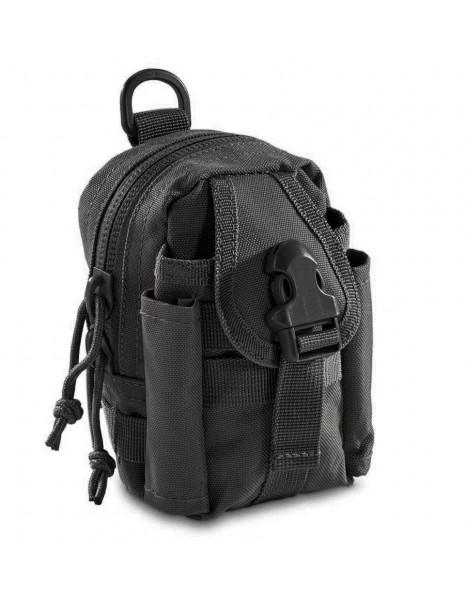 Miltec 13607002 Commando Molle Sport Belt Pouch Black