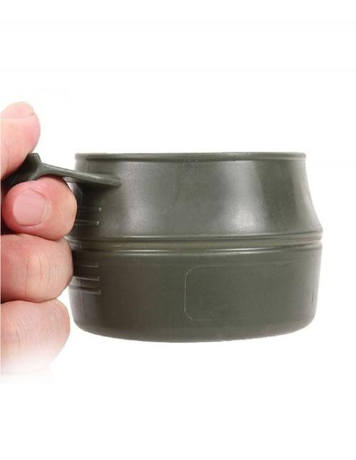 Wildo Fold-A-Cup® Folding Camping Hiking Mug Olive 14605000