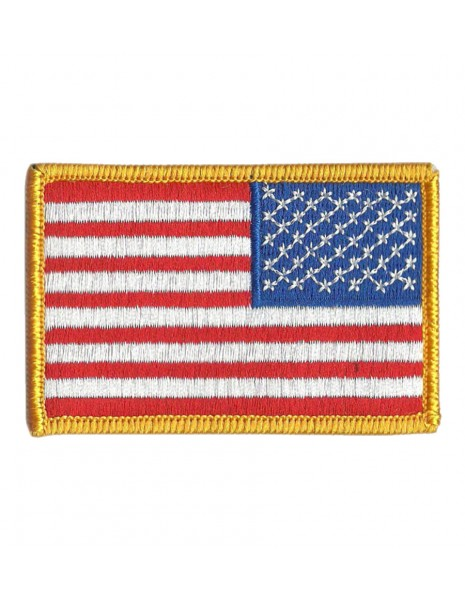 Military Patch US Flag Velcro Color Reversed 16851570 Sale