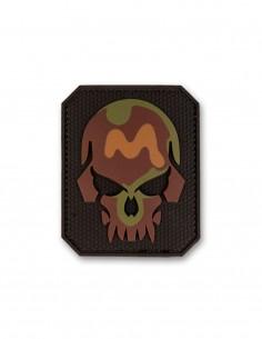 3D PVC Oznaka Velcro Skull Camouflage Small Akcija 16832020