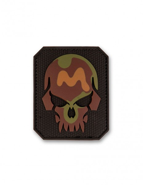 3D PVC Velcro Patch Skull Camouflage Small Jolly Roger Sale 16832020