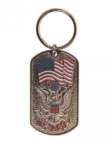 Original Dog Tag Plates Key Chain US Army 16363100 Sale